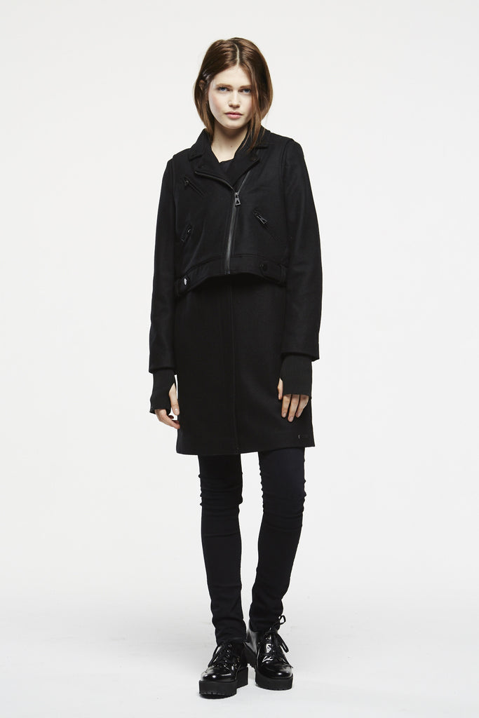 PROMETHEUS W Coat - ELEVEN PARIS WOMEN - 1