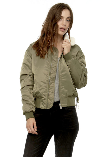 TRANSE Bomber Jacket - ELEVEN PARIS WOMEN - 1