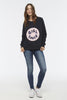 GIRLPATCH Sweatshirt - ELEVEN PARIS WOMEN - 2