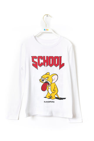 SCHOOL JERRY Long-Sleeve T-Shirt