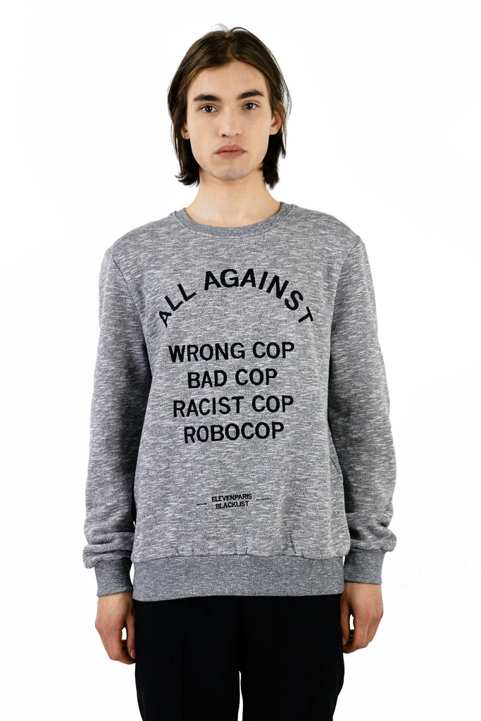 ACOPS Sweatshirt - ELEVEN PARIS MEN - 1
