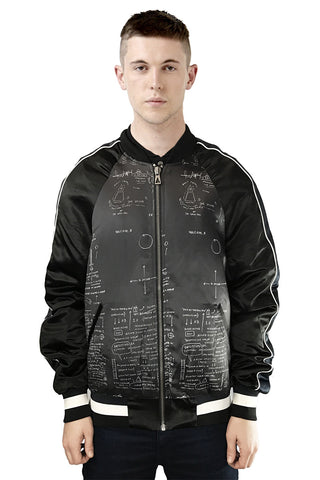 BASQUIAT 20 Bomber Jacket