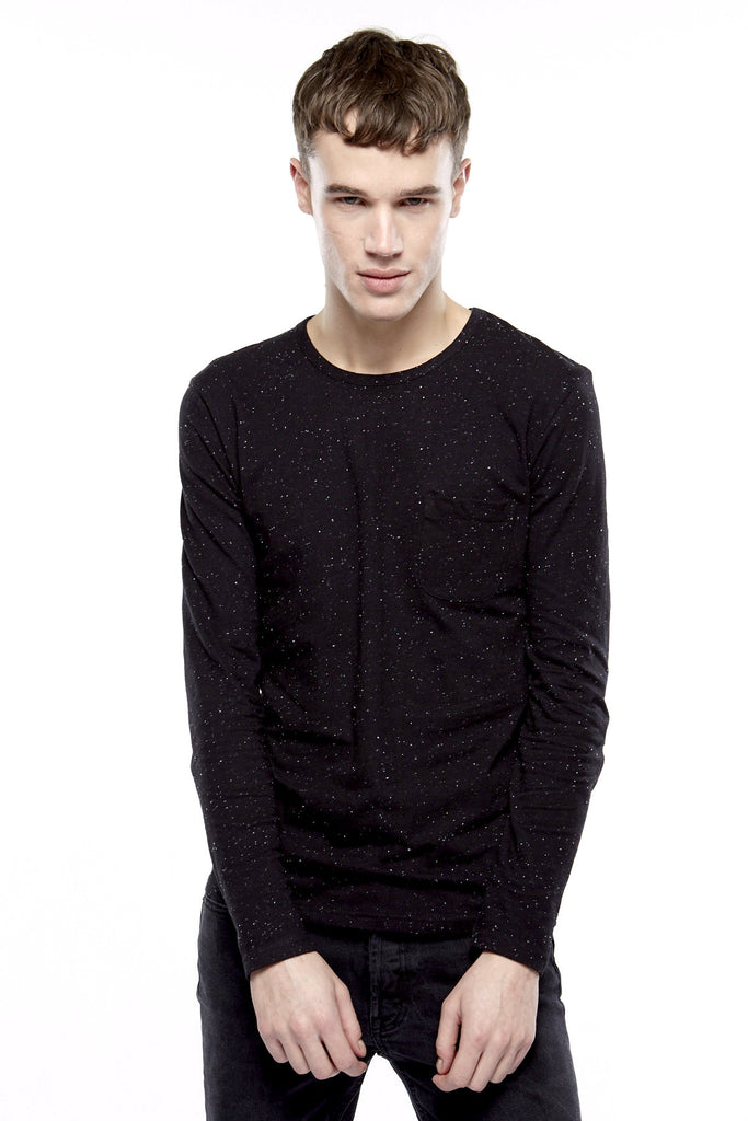 BEMICRA Long Sleeves T-Shirt - ELEVEN PARIS MEN - 1