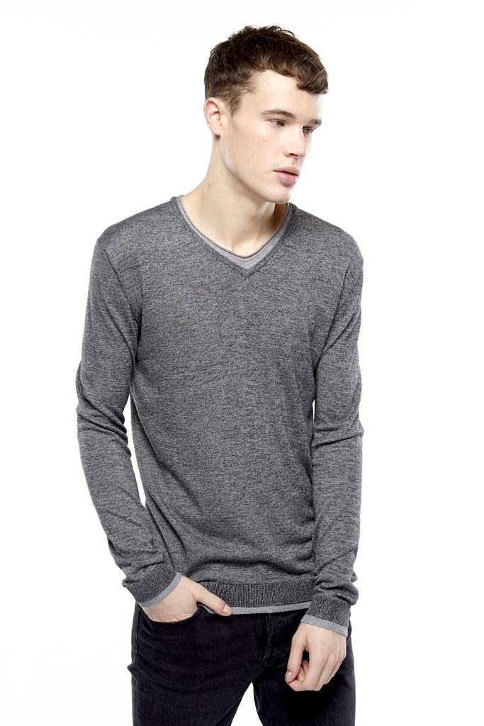 BUVI M Knit Pullover - ELEVEN PARIS MEN