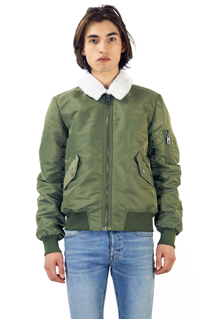 ELUXY Bomber Jacket - ELEVEN PARIS MEN - 1