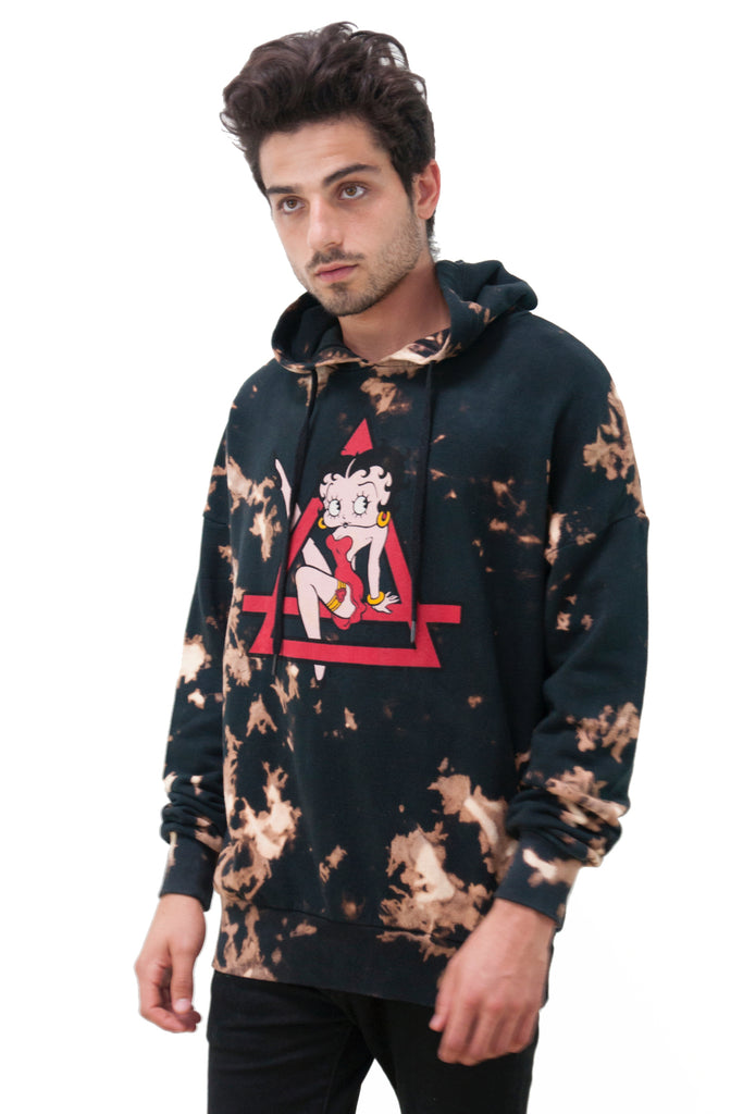 Boopy Betty Boop Graphic Hoodie | Eleven Paris