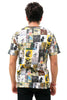 Collage Banksy Street Art T-Shirt Men's Collection | Eleven Paris