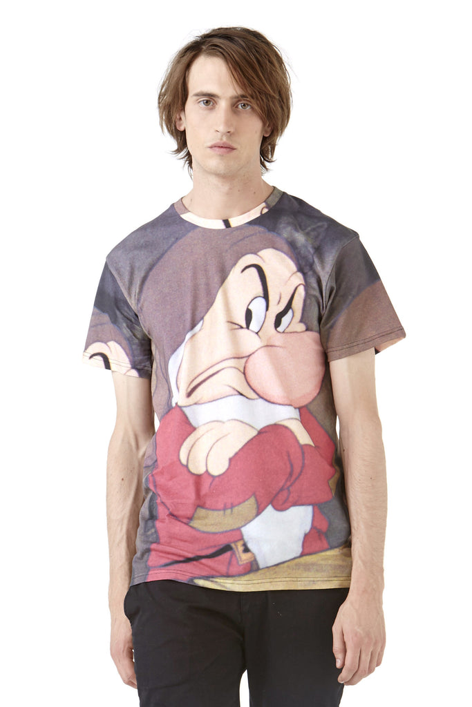 GRUMPY M T-Shirt - ELEVEN PARIS MEN - 1