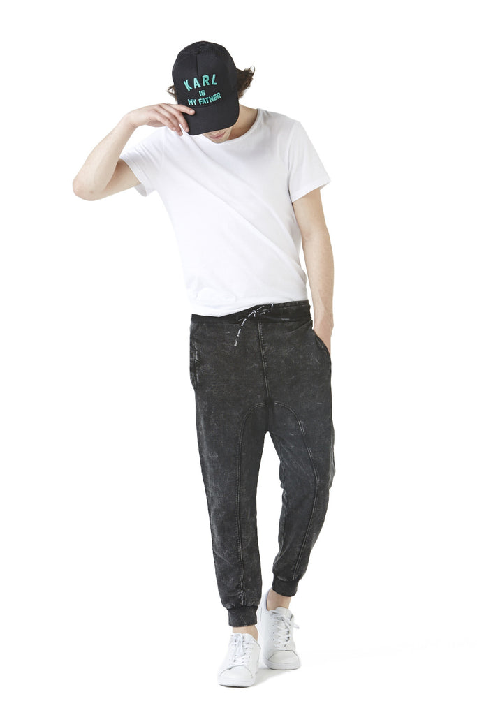 RUTTER WASH Sarrouel Sweatpants - ELEVEN PARIS MEN - 1