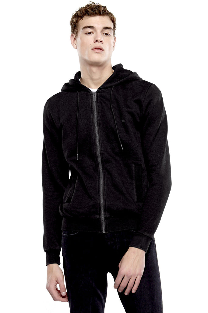 WIN BYORIS Zipped Hoodie - ELEVEN PARIS MEN - 1