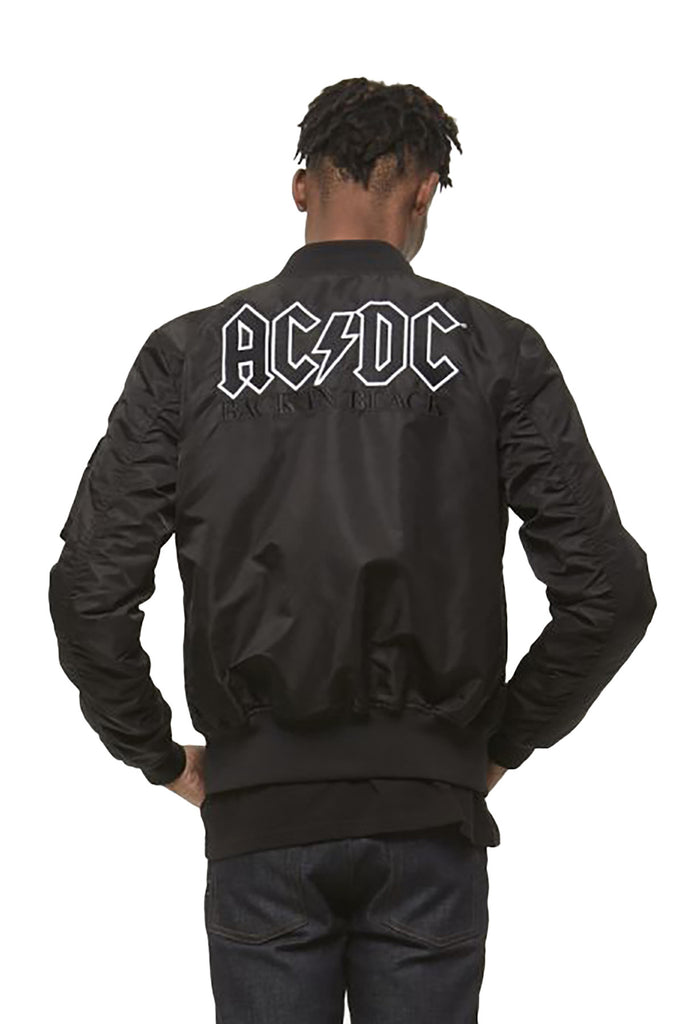 ACDC Back in Black Bomber Jacket