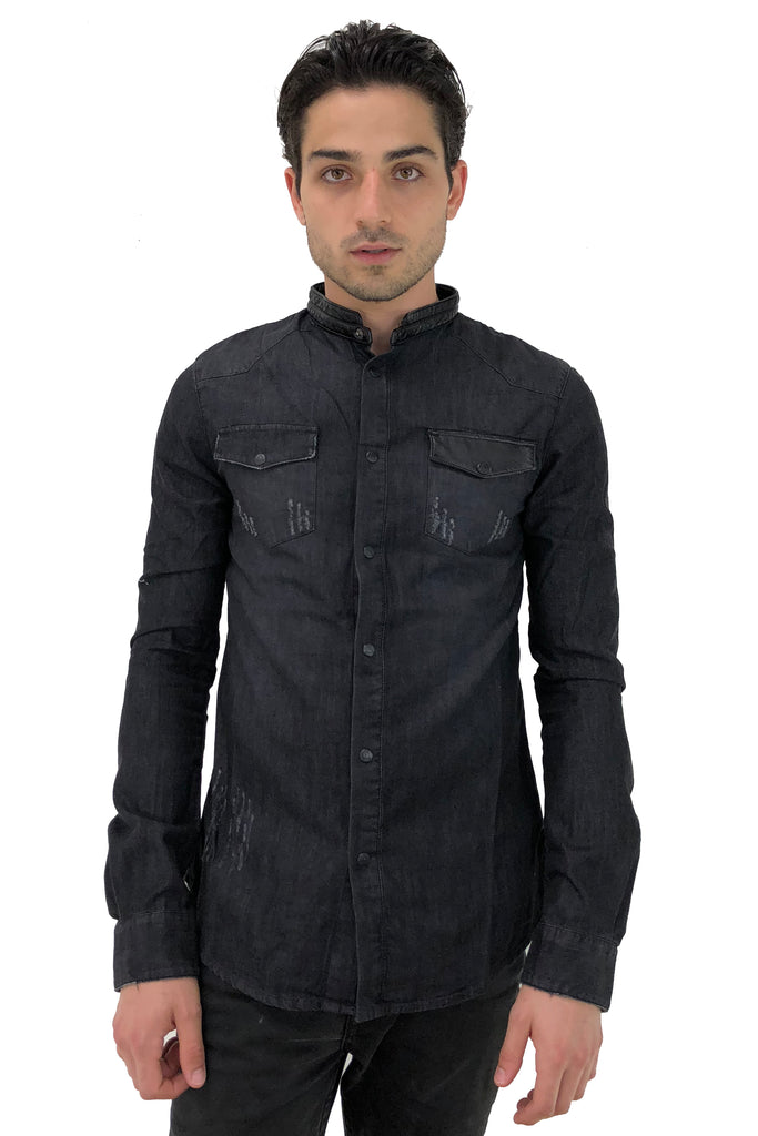 Glass Denim Shirt