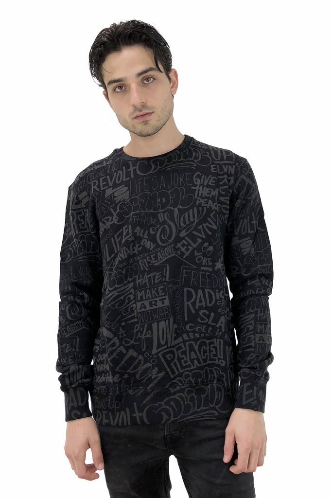 RESIST All-Over Sweatshirt