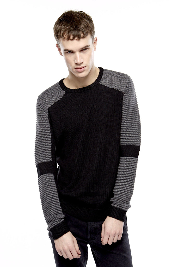 MONA M Knit Sweater - ELEVEN PARIS MEN - 1