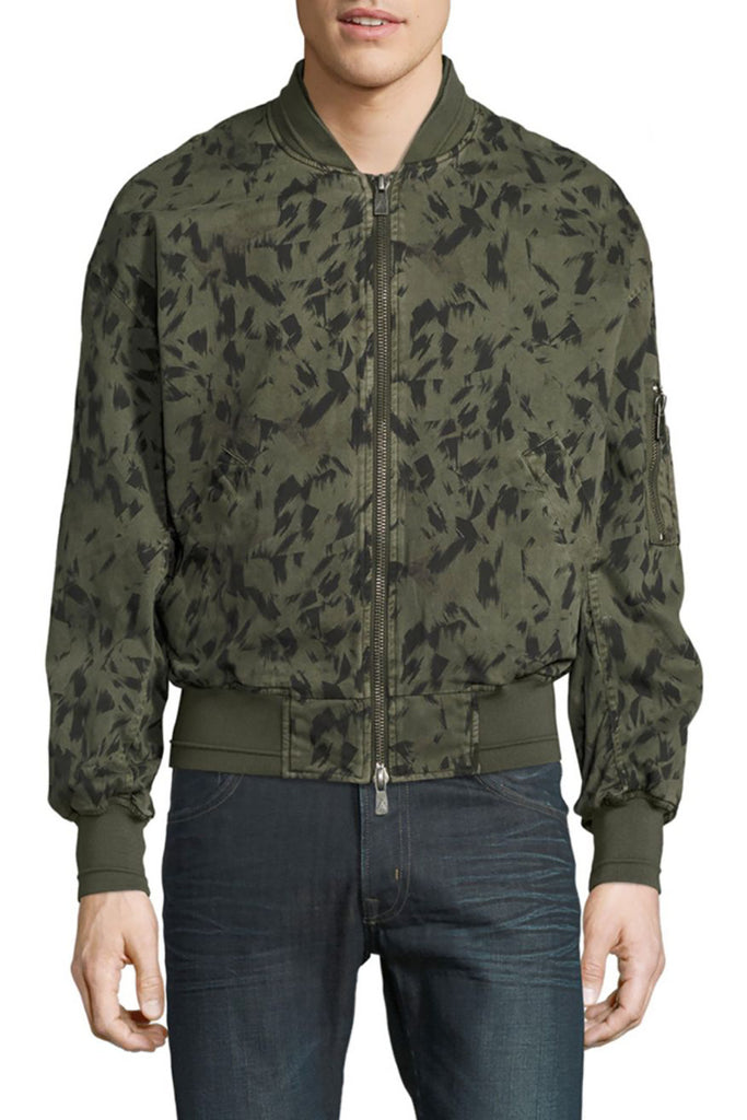 JORDAN Camo-Print Graphic Jacket