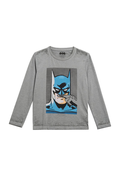 BAT Long Sleeves T-Shirt - ELEVEN PARIS KIDS - 1