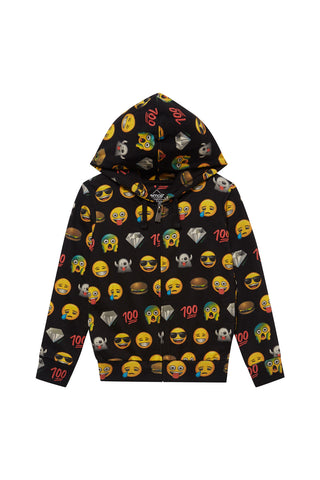 EMOJALL All-Over Graphic Hoodie