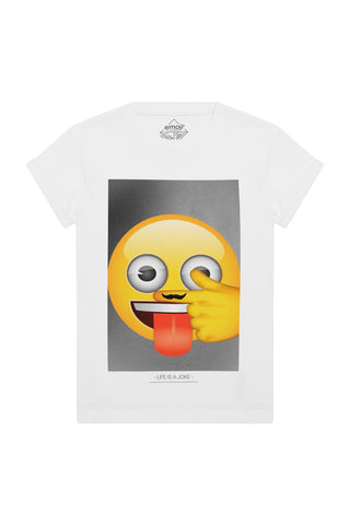 MOJO Emoji Graphic T-Shirt
