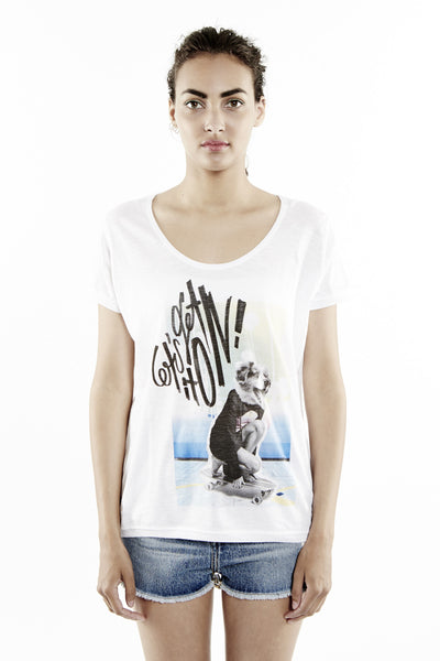 ADOG W T-Shirt - ELEVEN PARIS WOMEN - 1