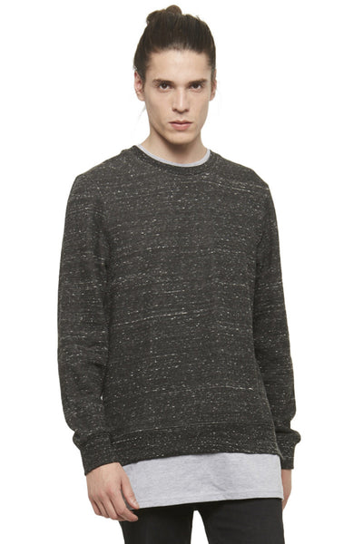 WIN RAYER Layered Sweatshirt - ELEVEN PARIS MEN - 1