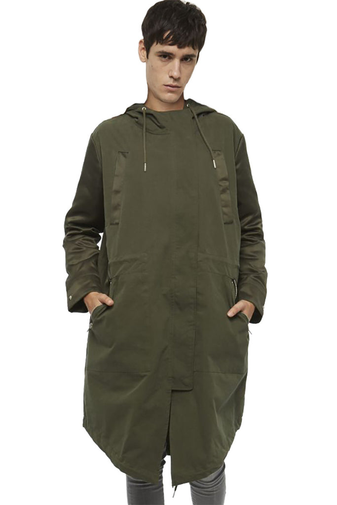 TOUCAN Trench Coat - ELEVEN PARIS MEN - 1