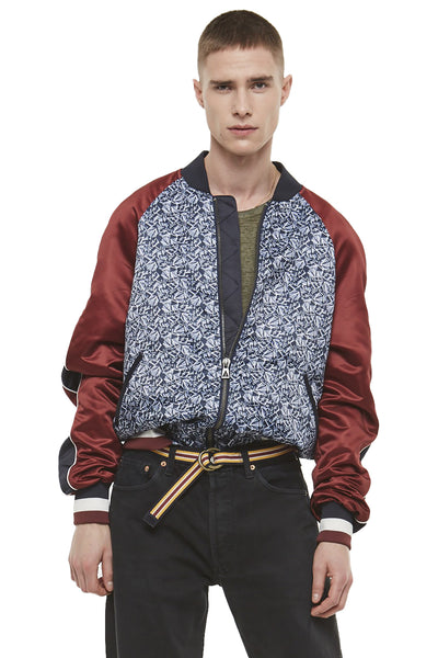 SORIAN Graphic Bomber Jacket