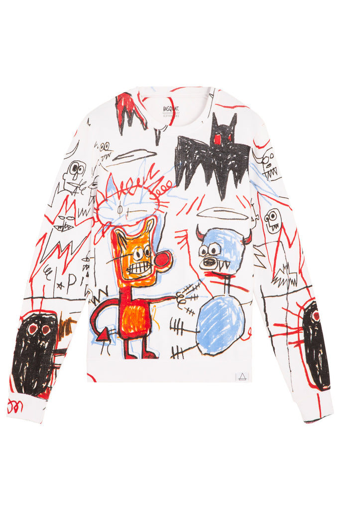 BASQUIAT 11 Unisex Sweatshirt - ELEVEN PARIS MEN - 1