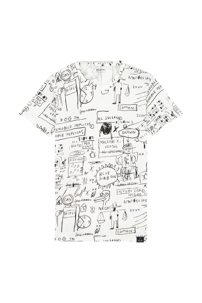 BASQUIAT 3 Unisex T-Shirt - ELEVEN PARIS MEN - 1