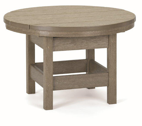 "Conversation Table 26"" Rnd"