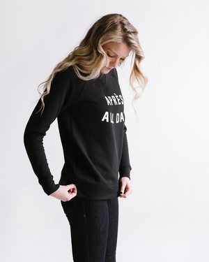 Après All Day Pullover | Black