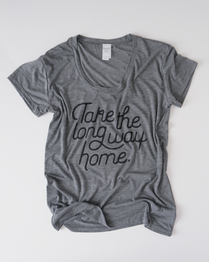 Long Way Home Tee | Ash Heather