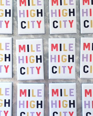 Mile High City Magnet