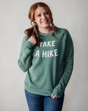 Take A Hike Sweatshirt | Pine