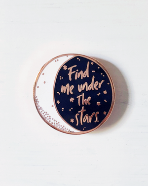 Under The Stars Enamel Pin