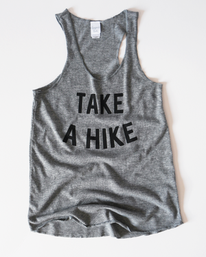 Take A Hike Tank | grey