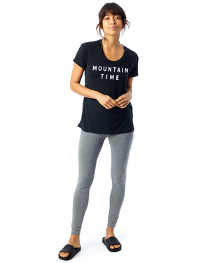 Mountain Time Tee - Black