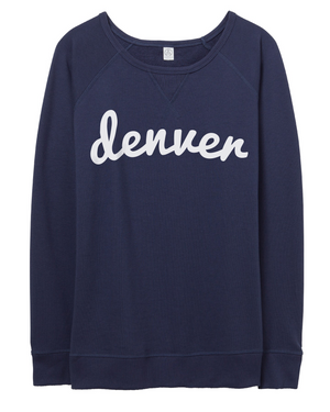 Denver Game Day Pullover | Navy