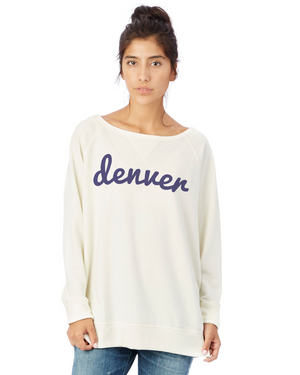 Denver Game Day Pullover | Porcelain