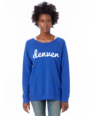 Denver Game Day Pullover | Royal Blue
