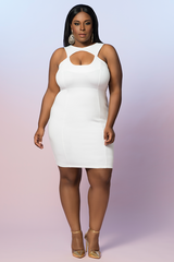 Z WHITE LABEL- KEYHOLE DRESS