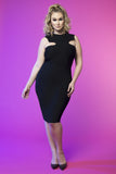Cat Eye Dress (Black)