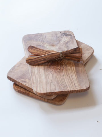 Olive Wood Rectangle Boards