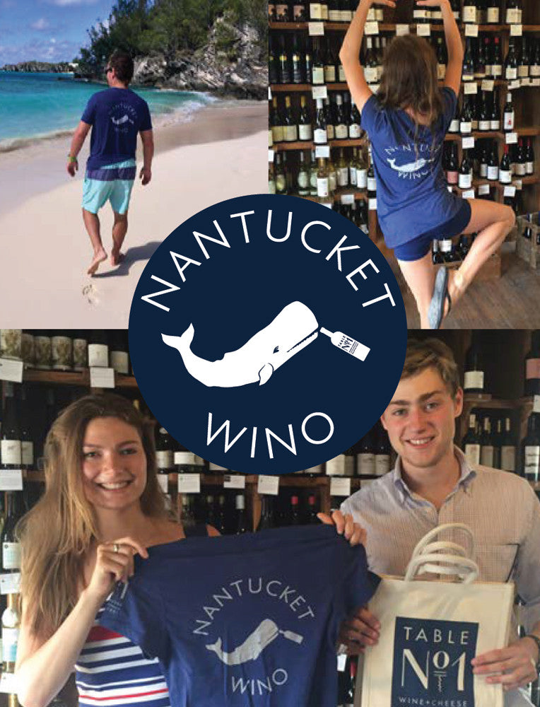 NANTUCKET WINO T-SHIRT