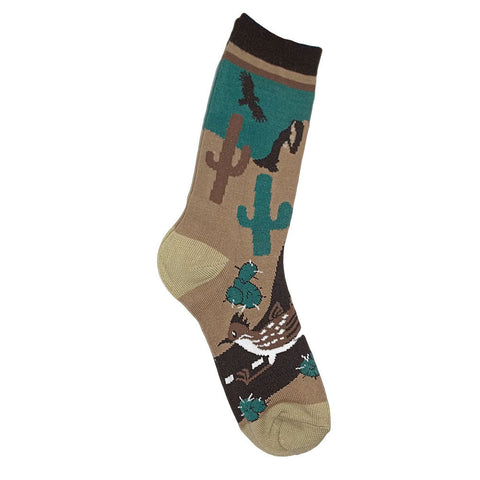 Route 66 Southwest Desert Print Socks Women's Size 8-11