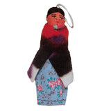 Navajo Doll Christmas Tree Ornament Handcrafted