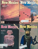 New Mexico Magazine 1986 Full Year Set - 12 Issues