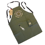 Two's Company 'Cue & Brew Barbecue Apron with Attached Bottle Opener and Beer Pocket