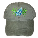 ECO Wear Embroidered Texas Bluebonnet Wildflower Baseball Cap
