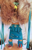 Southwest Native American Indian Kachina Doll - Eagle Dancer by J Apachito, Navajo Artist