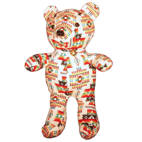 Navajo Handmade Indian Art Cloth Teddy Bear